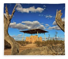 Casa Grande Ruins National Monument Fleece Blanket