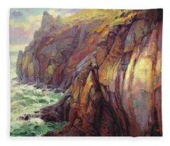 Cascade Head Fleece Blanket