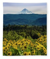 Cascade Spring Fleece Blanket