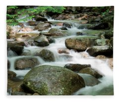 Cascading Water Fleece Blanket