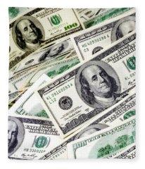 Cash Money Fleece Blanket