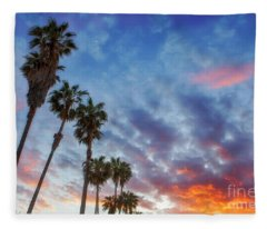 Casitas Palms Fleece Blanket