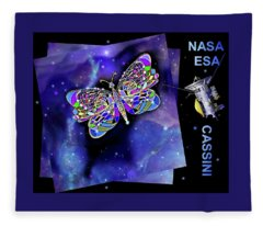 Cassini  Butterfly Fleece Blanket