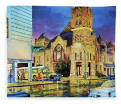 Castle Of Imagination Fleece Blanket
