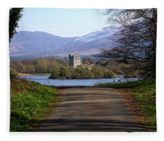 Castle On The Lakes Fleece Blanket
