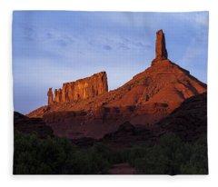 Castle Towers Fleece Blanket