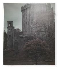 Castle Vignette Fleece Blanket