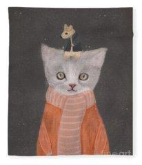 Mice Fleece Blankets