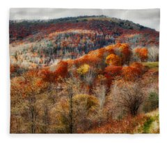 Cataloochee Fall Fleece Blanket