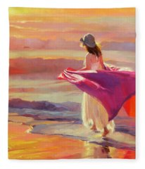 Catching The Breeze Fleece Blanket