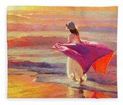 Catching The Breeze Fleece Blanket