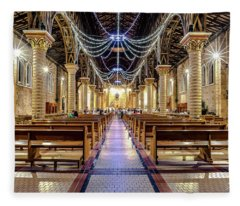 Catedral Pereira Fleece Blanket