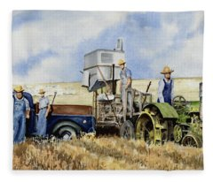 Catesby Cuttin' 1938 Fleece Blanket