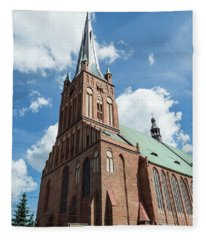 Cathedral Basilica Of St. James The Apostle, Szczecin A Fleece Blanket