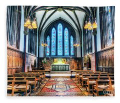 Cathedral Glow Fleece Blanket