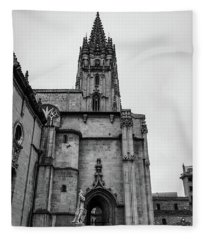 Cathedral Fleece Blanket