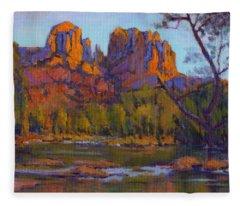 Cathedral Rock 2 Fleece Blanket
