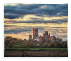 Cathedral Sunset Fleece Blanket
