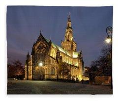 Cathedral Twilight Fleece Blanket