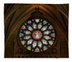 Cathedral Window Fleece Blanket