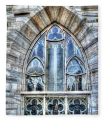 Cathedral Window Milan Fleece Blanket
