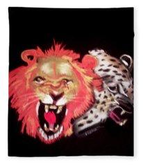 Cats Meow Fleece Blanket