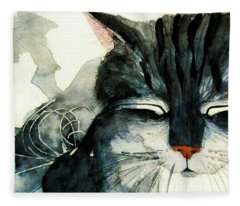 Cats Whiskers Fleece Blanket