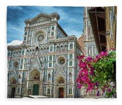 Cattedrale Di Santa Maria Del Fiore Fleece Blanket