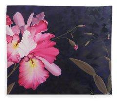Cattleya Fleece Blanket