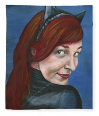 Catwoman Fleece Blanket