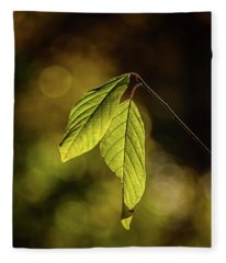 Caught In The Light Fleece Blanket