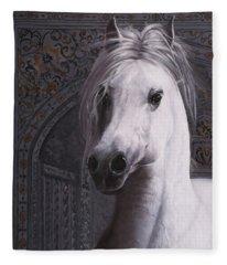 Cavallo Col Ciuffo Fleece Blanket