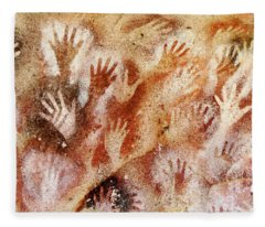 Cave Of The Hands - Cueva De Las Manos Fleece Blanket
