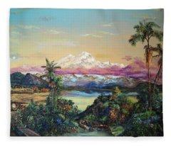Cayambe-ish Fleece Blanket