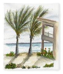 Cayman Hotel Fleece Blanket