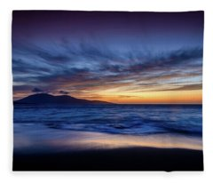 Ceapabhal, Isle Of Harris Fleece Blanket