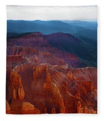 Cedar Breaks Brilliance Fleece Blanket