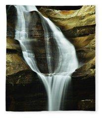 Cedar Falls Closeup Fleece Blanket