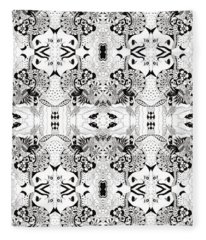 Ceilings And Floors Variation Fleece Blanket