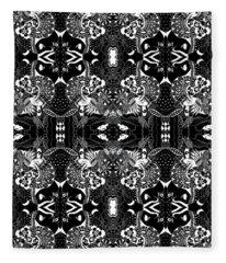 Ceilings And Floors Variation Inverted Fleece Blanket