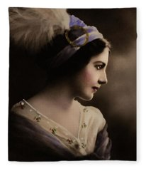 Celeste Aida Fleece Blanket