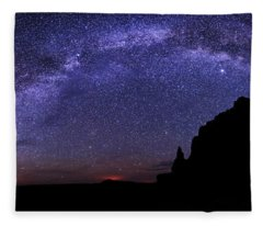 Celestial Arch Fleece Blanket