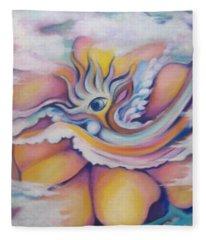 Celestial Eye Fleece Blanket