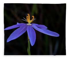 Celestial Lily Fleece Blanket