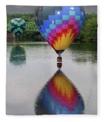 Celestial Reflections Fleece Blanket
