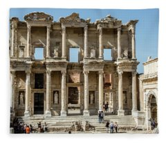 Celsus Library Fleece Blanket