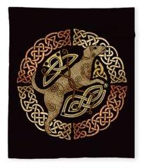 Celtic Dog Fleece Blanket