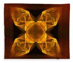 Celtic Gothica Fleece Blanket