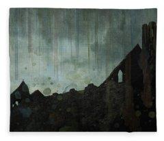 Celtic Ruins Fleece Blanket