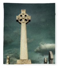 Celtic Sanctuary Fleece Blanket
